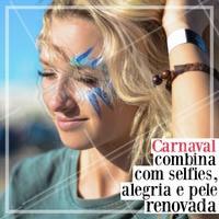 Venha renovar sua pele pra curtir o Carnaval! 💆🎉 #carnaval #ahazou #esteticafacial