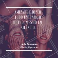 Amizade é AMOR! ❤️️ #diadaamizade #ahazou #amigos
