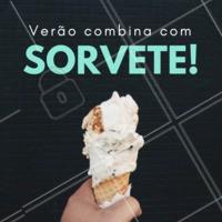 Tem coisa melhor do que tomar um sorvete nesse verão? #sorvete #verão #ahazou #sorveteria