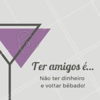 Marca aquele amigo que sempre dá uma forcinha! #amigo #bar #ahazou
