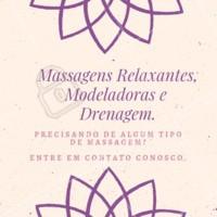 Nosso espaço oferece os três tipos de massagens: relaxante, modeladora e drenagem. Agende seu horário e traga os benefícios da massagem para a sua vida.  💆🏵 #massagem #estetica #ahazou