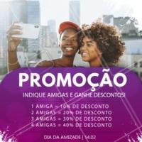 Promoção incrível para você que indicar uma amiga! Corre e não perca essa promoção 💃 #ahazou #promocao #esteticacorporal #indiqueumaamiga