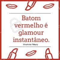 O poder de um batom vermelho. Amo 💄👄 #batom #maquiagem #ahazou #maquiagemlovers