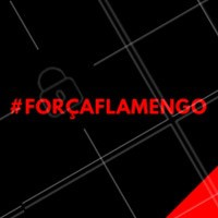 Hoje não temos time, a bola não rola e a rivalidade não existe. Hoje somos Flamengo e somos um só! #forçaflamengo #ahazou