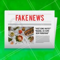 Como assim? Isso é fake news! 😂 #gastronomia #ahazou #engracado #fakenews