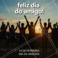 Chame os amigos e comemore esse dia! #diadaamizade #ahazou #amigos