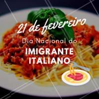 Parabéns à todos os nossos imigrantes desse país tão maravilhoso que é a Itália! #21defevereiro #italiano #ahazou