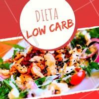 A dieta low carb é um método de emagrecimento e de alimentação que têm sido cada vez mais febre entre a galera! Ela consiste em comer uma quantidade reduzida de carboidratos, dando uma investida nas proteínas (principalmente as de baixa caloria) e nos legumes. Antes de aderir a dieta, é necessário que haja uma consulta com um nutricionista para acompanhamento adequado. #dieta #ahazou #lowcarb