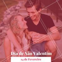 """Hoje é dia de São Valentim, o """"Dia dos Namorados"""" nos EUA! Por que não comemorar por aqui também? 💕💕 #diadosnamorados #ahazou #saovalentim #diadesaovalentim"""