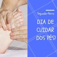 Segunda-feira é dia, você já agendou o seu horário? #segundona #agendeseuhorario #ahazou #unhas #podologia #pés