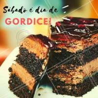 Sábado é dia de gordice! Venha saborear nossas sobremesas #restaurante #sabado #ahazou #gordice #doce #bolo