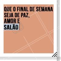 Isso é tudo o que a gente precisa! 😍 #salaodebeleza #ahazou #cabeleireiro #motivacional