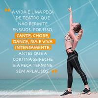 Viva Intensamente! ❤️️#frases #ahazou #motivacional