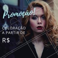 Não perca esta promoção! Agende seu horário agora mesmo e venha ficar linda! 😍 #cabelo #ahazou #escova #promocao