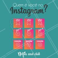 Quem é você no Instagram? Conta pra gente! 😂🤣🤔 #funny #fun #diversao #divertido #quemevocenoinstagram #profile #quemevoce #whoareu #whoareyou #instagramfeelings #rainhadaselfie #detudoumpouco #netflixandchill #ahazou #engracado #enquetedodia #timeline #ig #picoftheday