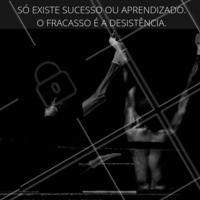 O fracasso é a desistência. 👊 #frase #ahazoubarbearia  #barber #motivaçao