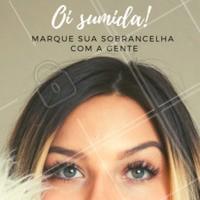 Oi sumida! Venha fazer sua sobrancelha com a gente 😁 #unhas #manicure #ahazou #convite
