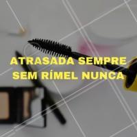 Acontece com você também? ahahah 😄 #rimel #maquiagem #ahazoumake #make