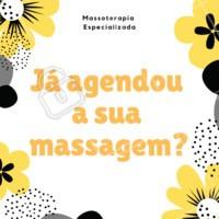 Já agendou a sua massagem essa semana? Tire um tempo para você e se cuide! Whatsapp: XXXX-XXXX #massoterapia #massagem #ahazoumassagem #seame #secuide