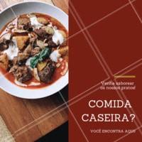 Hummm! Gostinho de comida caseira. É isso que a gente gosta! #comidacaseira #restaurante #ahazoutaste #comidadevo