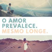 A distância não interfere quando o amor é verdadeiro! #amor #distancia #ahazou #motivacional #inspiracao