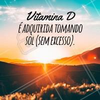 A vitamina D é um hormônio esteroide lipossolúvel que pode ser obtido após exposição solar ou por meio da alimentação. A substância é essencial para o corpo humano e sua ausência pode proporcionar uma série de complicações.  #sol #dicas #ahazou #verao