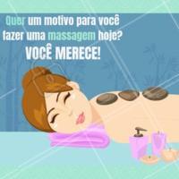Você merece aquela massagem tão desejada! #massagem #ahazoumassagem #saudeebemestar