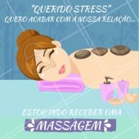 Um dos benefícios da massagem relaxante profissional  é acabar com o stress. Melhore sua qualidade de vida agendando seu horário hoje mesmo. #massagem #ahazoumassagem #saudeebemstar