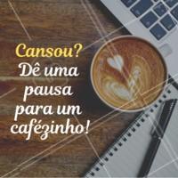Trabalhar sem parar não é nada saudável. Dê uma pausa e aproveite pra tomar um café ;)  #trabalho #ahazou #cafe #saude
