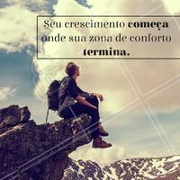 Superando nossos limites vamos cada vez mais longe.❤️️ #gratidao #ahazou #frases #motivacional