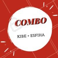 O melhor sabor em forma de combo. #gastronomia #ahazou #combo