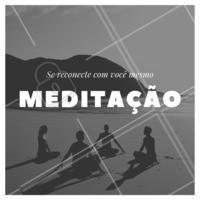 Você já meditou hoje? #meditacao #meditar #ahazousaude #energia #conexao #bemestar