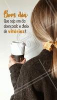 Bom dia, minhas divas! ☀️ #bomdia #ahazou #cabelo #cabeleireiro #motivacional