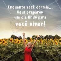 Bommm dia! Fé em Deus que o dia será maravilhoso 🙏 #deus #fé #bomdia #ahazou #motivacional