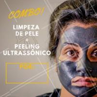 Não perca esta oportunidade, agende agora mesmo o seu horário! 💖 #esteticafacial #promocao #ahazouestetica #peelingultrasonico #limpezadepele