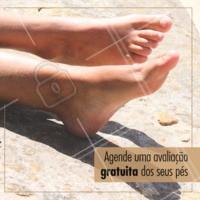 Com a nossa avaliação profissional, é possível identificar o melhor tratamento possível para garantir pés sempre saudáveis! #podologia #ahazou #pes