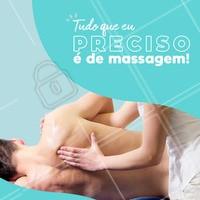 Que pescar que nada, o que você precisa pra relaxar é da nossa massagem! #massagem #ahazou