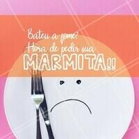 Aproveite para pedir sua marmita e mate sua fome. 😉 #marmita #ahazou #comida #alimentaçao