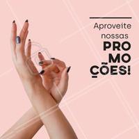 Você sabia que estamos com promoções exclusivas pra você?  Venha cuidar das suas unhas! #unhas #ahazou #promoções