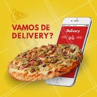 Não tá afim de cozinhar e bateu aquela fome? Chama a gente! 🍕 Faça o seu pedido:  ☎️ Telefone (xx) xxxxxxxx  📱 Whatsapp (xx) xxxxxxxxxx #pizza #pizzaria #ahazou #pedido #delivery