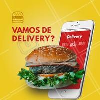 Não tá afim de cozinhar e bateu aquela fome? Chama a gente! 🍔 Faça o seu pedido:  ☎️ Telefone (xx) xxxxxxxx  📱 Whatsapp (xx) xxxxxxxxxx #hamburguer #hamburgueria #ahazou #delivery