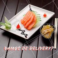 Não tá afim de cozinhar e bateu aquela fome? Chama a gente! 🍣 Faça o seu pedido:  ☎️ Telefone (xx) xxxxxxxx  📱 Whatsapp (xx) xxxxxxxxxx #japa #comidajaponesa #ahazou #pedido #delivery