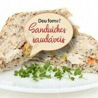 Peça já o seu sanduíche saudável e mate sua fome! 🥪 #sanduiche #comidasaudavel #ahazou #alimentaçao #saudavel #lanchesaudavel