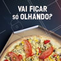 Não vai ficar na vontade! Peça já a sua pizza 🍕 #pizza #ahazou #pizzaria