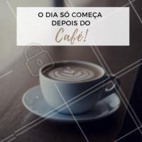 Quem também não acorda sem um bom café? #ahazoucafe #ahazou