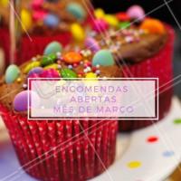 Faça já sua encomenda! ❤️️ #encomenda #ahazou #doces #festa #março #mesdemarço
