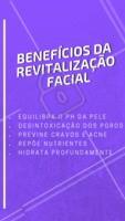 Conheça o poder da revitalização facial.✨ Agende seu horário e venha cuidar da sua pele! #esteticafacial #cuidadoscomapele #ahazouestetica #peleperfeita #revitalizacaofacial