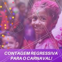 Todos ansiosos com a chegada do Carnaval? Começou a contagem regressiva! #carnaval #ahazou