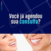 Não deixe de marcar sua consulta, mantenha sua saúde bucal!  #dentista #ahazou #dentes