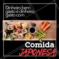 Quer gastar o seu dinheiro de maneira melhor? 😂Não tem como!   #ahazou #comidajaponesa
